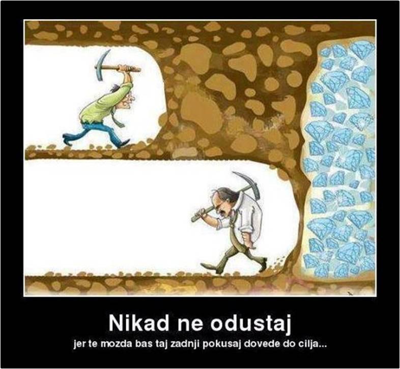 Nikad ne odustaj 1